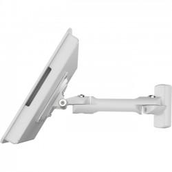 "Compulocks Brands - 827W910AROKW - Compulocks Rokku Mounting Arm for Tablet - 10.1"" Screen Support - White"