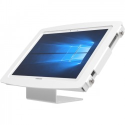 Compulocks Brands - 101W912SGEW - Compulocks Space Galaxy Tab Pro S Enclosure Kiosk - Galaxy Tab Pro S Enclosure - White