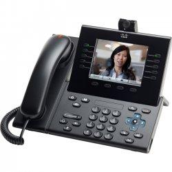 Cisco - CP-9951-C-A-K9= - Cisco Unified 9951 IP Phone - Cable - Desktop - Charcoal - 1 x Total Line - VoIP - Caller ID - Speakerphone - 2 x Network (RJ-45) - USB - PoE Ports - Color