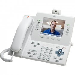 Cisco - CP-9951-W-A-C-K9= - Cisco Unified 9951 IP Phone - Cable - Desktop - White - 1 x Total Line - VoIP - Caller ID - Speakerphone - 2 x Network (RJ-45) - USB - PoE Ports - Color