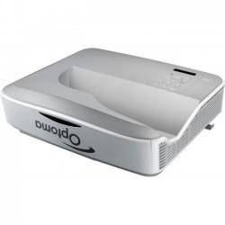 Optoma - ZH400UST - 1080p Full Hd, 4000 Lumens Laser, 10, 000:1 Contrast, 12.3 Lbs, 0.25 Ultra Short