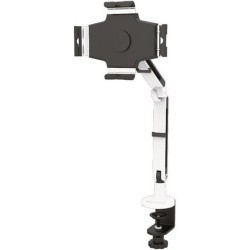 StarTech - ARMTBLTIW - StarTech.com Desk Mount for Tablet - TAA Compliant - 11 Screen Support - 2.20 lb Load Capacity - White