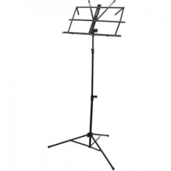 Monoprice - 602400 - Monoprice Folding Sheet Music Stand - 58 Height - Aluminum