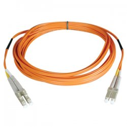 Tripp Lite - N520-08M - Tripp Lite 8M Duplex Multimode 50/125 Fiber Optic Patch Cable LC/LC 26' 26ft 8 Meter - LC Male Network - LC Male Network - 26.25ft