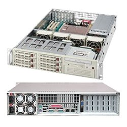 Supermicro - CSE-823T-R500LPB - Supermicro SC823T-R500LP Chassis - Rack-mountable - Black