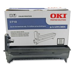 Okidata - 43913804 - Oki Black Image Drum For C710 Series Printers - 30000 Page - 1 Each