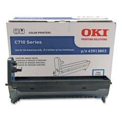 Okidata - 43913803 - Oki Cyan Image Drum For C710 Series Printers - 30000 - 1 Each