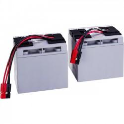 CyberPower - RB12170X4 - CyberPower RB12170X4 Battery Kit - 17000 mAh - 12 V DC - Sealed Lead Acid (SLA) - Leak Proof/User Replaceable