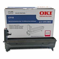 Okidata - 43913802 - Oki Magenta Image Drum For C710 Series Printers - 30000 Page - 1 Each