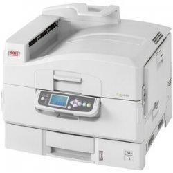 Okidata - 91642404 - Oki C9650HN Laser Printer - Color - 40 ppm Mono - 36 ppm Color - 1200 x 600 dpi - Network, USB, Parallel - Gigabit Ethernet - Mac, PC