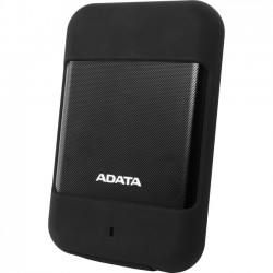 A-DATA Technology - AHD700-1TU3-CBK - Adata HD700 1 TB Internal Hard Drive - Portable - USB 3.0 - Black - 256-bit Encryption Standard