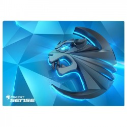 Roccat Studios - ROC-13-120 - Roccat Sense - High Precision Gaming Mousepad - 0.1 x 15.7 x 11 Dimension - Blue, Multicolor - Cloth Base