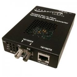 Transition Networks - SSEFE1014-100-NA - Transition Networks Fast Ethernet Stand-Alone Media Converter - 1 x RJ-45 , 1 x SC Duplex - 10/100Base-TX, 100Base-FX