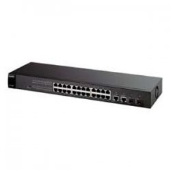 ZyXel - ES1528 - Zyxel Dimension ES-1528 28-Port Managed Ethernet Switch - 24 x 10/100Base-TX, 2 x 10/100/1000Base-T