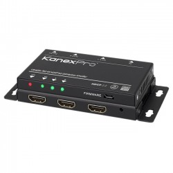 KanexPro - SP-1X2SL18G - KanexPro UltraSlim 4K HDMI 1X2 Splitter w/ 4:4:4 Color Space & 18G - 4096 x 2160 - 32.81 ft Maximum Operating Distance - HDMI In - HDMI Out