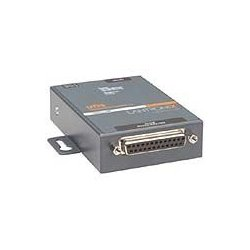 Lantronix - UD11000P0-01 - Lantronix One Port Serial (RS232/ RS422/ RS485) to IP Ethernet Device Server with Power Over Ethernet (PoE) - Convert from RS-232; RS-485 to Ethernet using Serial over IP technology; Power Over Ethernet (PoE 802.3 AF); UL864