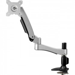 Best-Rite / MooreCo - 66643 - Balt Clamp Mount for Flat Panel Display - 24 Screen Support - 22 lb Load Capacity - Black, Silver