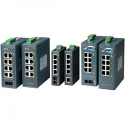 Lantronix - X52000001-01 - Lantronix XPress-Pro 52000 5-Port Ethernet Switch - 5 x 10/100Base-TX