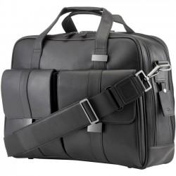 Hewlett Packard (HP) - 1LG83UT - HP Executive Carrying Case for 15.6 Notebook - Black - Leather