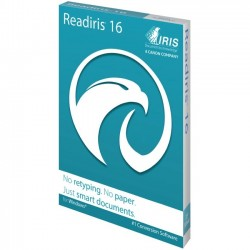 IRIS - 458893 - I.R.I.S. Readiris v.16.0 Corporate - Complete Product - 1 User - OCR Utility - English - PC