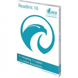 IRIS - 458913 - I.R.I.S. Readiris v.16.0 Corporate - Complete Product - 1 User - OCR Utility - English - Intel-based Mac