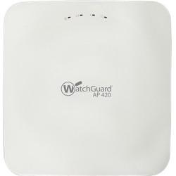 Watchguard Technologies - WGA42721 - WatchGuard AP420 and 1-yr Total Wi-Fi - 2.40 GHz, 5 GHz - 10 x Antenna(s) - 10 x Internal Antenna(s) - MIMO Technology - 2 x Network (RJ-45) - USB