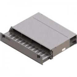 Belden / CDT - AX104682 - Belden FX UHD Patch Panel Housing 2U, Empty - 2U High - Titanium - Rack-mountable