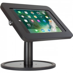 The Joy Factory - KAA102B - The Joy Factory Elevate II Countertop Kiosk for iPad 9.7 5th Generation   Air (Black) - Up to 9.7 Screen Support - 13 Height - Countertop, Desktop - Black