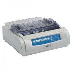 Okidata - 92009704 - OKI Microline 421n - Printer - monochrome - dot-matrix - 16 in (width) - 240 x 216 dpi - 9 pin - up to 570 char/sec - parallel, USB, LAN