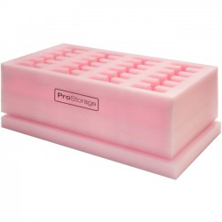 Image Mechanics - IMA904800F015 - ProStorage ProStorage 24 - Polyethylene, Closed-cell Foam - Pink - 24 Hard Drive