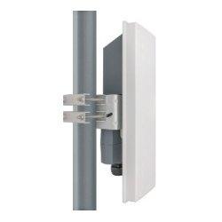 Fluidmesh Network - FM3200B-HW - Fluidmesh FM3200BASE 300 Mbit/s Wireless Bridge - 4.90 GHz, 5.90 GHz - 16 Mile Maximum Outdoor Range - MIMO Technology - 2 x Network (RJ-45) - Pole-mountable