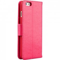 Ergoguys - 13664 - Naztech Allure Carrying Case (Wallet) for iPhone 6 Plus, iPhone 6S Plus - Pink - Impact Resistant, Shock Absorbing - Vegan Leatherette, Polycarbonate