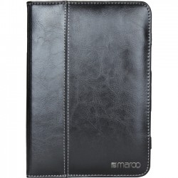 Cyber Acoustics - MR-IM5305 - Maroo Carrying Case (Folio) for iPad mini 4 - Black - Leather