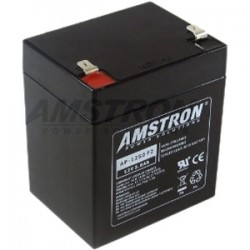 Amstron - AP1250F2 - Amstron AP-1250F2 UPS Battery Cartridge - 5000 mAh - 12 V DC - Sealed Lead Acid (SLA) - Spill-proof/Maintenance-free