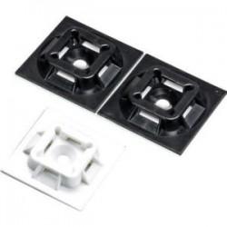 Panduit - ABM100-A-C15 - Panduit ABM100-A-C15 Cable Tie Mount - Cable Tie Mount - Ivory - 100 Pack - Nylon 6.6