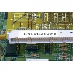 Panduit - C038X038YJJ - Panduit C038X038YJJ - 3/8 Width x 3/8 Length - Square - Laser, Inkjet - White - Polyester - 352 / Sheet - 10000 / Pack