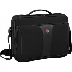 Victorinox / Swiss Army - 601672 - Swissgear Carrying Case (Briefcase) for 16 Tablet, Notebook - Black - Checkpoint Friendly - Shoulder Strap