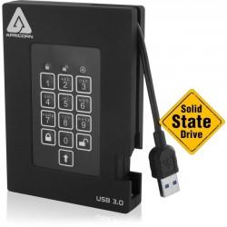 Apricorn - A25-3PL256-S4000F - Apricorn Aegis Padlock Fortress A25-3PL256-S4000F 4 TB External Solid State Drive - Portable - USB 3.0 - 8 MB Buffer