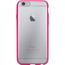 Griffin Technology - GB39194 - Griffin Reveal for iPhone 6 - iPhone 6, iPhone 6S - Hot Pink, Clear - Polycarbonate, Rubber