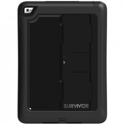 Griffin Technology - GB40366 - Griffin Survivor Slim for iPad Air 2 - iPad Air 2 - Black - Polycarbonate, Silicone - 78.74 Drop Height