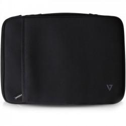 V7 - CSE4-BLK-9N - V7 Elite CSE4-BLK-9N Carrying Case (Sleeve) for 13.3 Notebook, Tablet, Ultrabook, Chromebook, MacBook Air - Black - Neoprene - Handle - 10.1 Height x 13.7 Width x 1.2 Depth