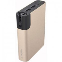 Belkin - F8M992BTGLD - Belkin Rechargeable Li-Ion Battery Pack - Lithium Ion (Li-Ion) - Gold