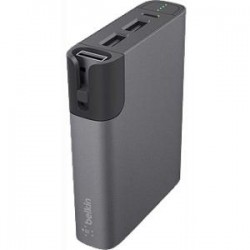 Belkin - F8M992BTGRY - Belkin Rechargeable Li-Ion Battery Pack - Lithium Ion (Li-Ion) - Gray