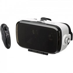 GPX - IVR57BDL - iLive Virtual Reality Goggles and Remote - For Smartphone - Optical