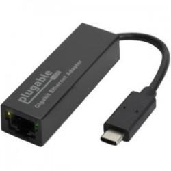 Plugable - USBC-E1000 - Plugable USB Type-C Gigabit Ethernet Adapter - USB Type C - 1 Port(s) - 1 - Twisted Pair