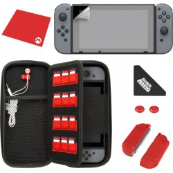 Performance Designed Products - 500-022 - PDP Starter Kit Mario M For Nintendo Switch
