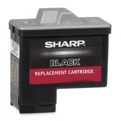 Sharp - UXC80B - Sharp Original Ink Cartridge - Inkjet - 480 Pages - Black - 1 Each