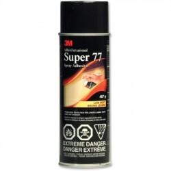 3M - 77 - 3M Super Spray Adhesive - 1.05 lb - Fabric, Cardboard, Paper - 1 Each - Clear
