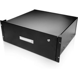 iStarUSA - WA-DWR4UB - Claytek 4U Sliding Drawer with Key Lock - 19 4U Wide Rack-mountable for Tool - SPCC - 44 lb x Maximum Weight Capacity