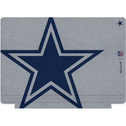 Microsoft - QC7-00123 - Microsoft Type Cover Keyboard/Cover Case for Tablet - Gray - Bump Resistant, Scratch Resistant - Dallas Cowboys - 0.2 Height x 11.6 Width x 8.5 Depth